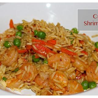 Curried Shrimp & Rice