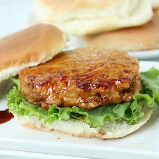 Chicken Teriyaki Burgers (or Sliders) with Homemade Teriyaki Sauce.