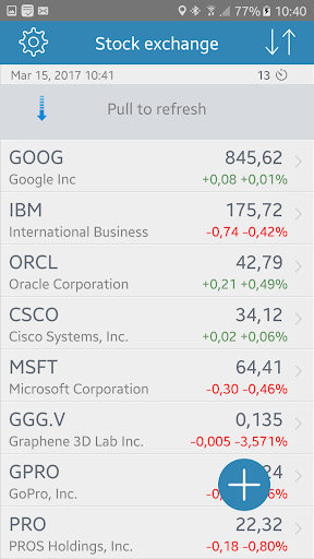 Stock Exchange screenshots 1