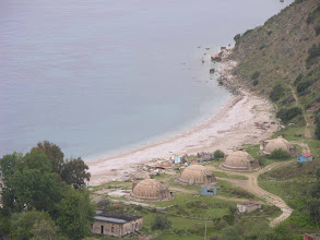Photo: Bunkers on the beach