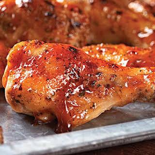 BBQ-Ranch Chicken Wings.