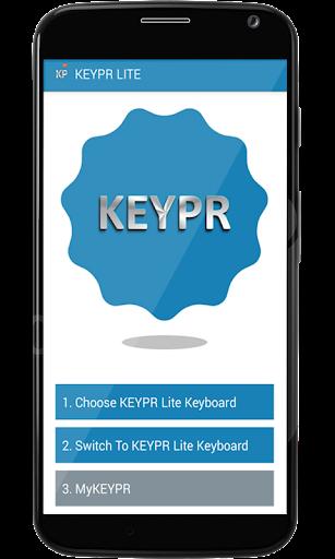 KEYPR Keyboard App Lite+Emojis