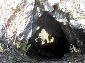 Photo: Bei der Höhle angelangt.