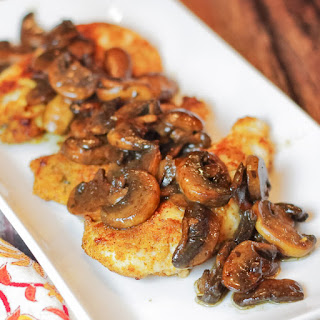 Sauteed Chicken with Guinness Glazed Mushrooms