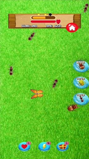 ant smasher games  – bug smasher games for kids. screenshot 2
