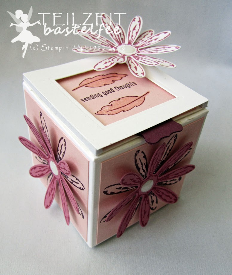 Stampin' Up! – In{k}spire_me #315, Gänseblümchengruß, Daisy Delight, Text Ya Later, Daisy Punch, Box, Verpackung