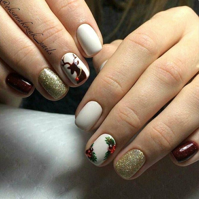 manicure for the New Year  4