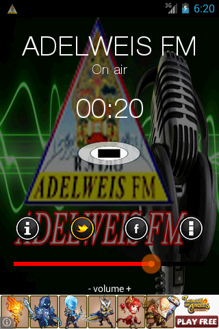 Adelweis FM- screenshot