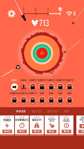Planet Bomber! Android App Screenshot