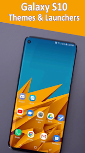 Themes for Samsung galaxy S10 launcher & wallpaper for PC