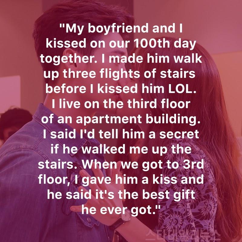 Korejska dekleta delijo svoje romantične in smešne zgodbe iz prvega poljuba-7652