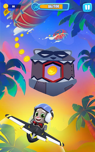 Talking Tom Sky Run: The Fun New Flying Game apktram screenshots 12