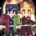 Kimetsu No Yaiba Skins For Minecraft icon