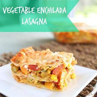 Vegetable Enchilada Lasagna