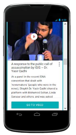 Shaykh Yasir Qadhi Videos
