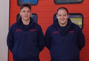 Welshpool firefighters save chippie and rescue residents