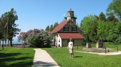 Photo: Historic Lighthouse ( Lake Michigan )