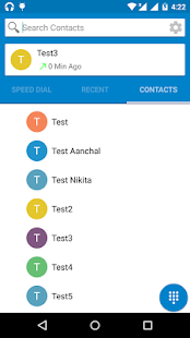 Lollipop Dialer - Android 5- screenshot thumbnail