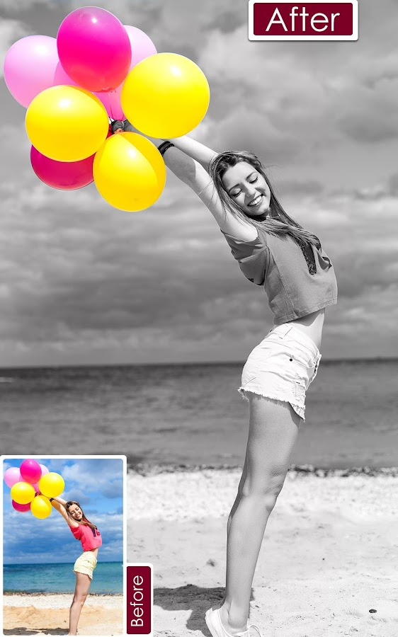 Color Pop Effects : Black & White Photo Editor- screenshot