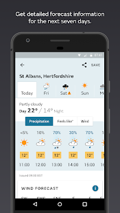 Met Office Weather Forecast- screenshot thumbnail