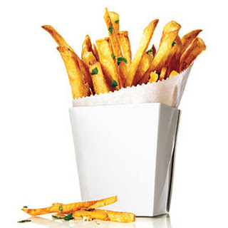 Garlic and Herb Oven Fries.