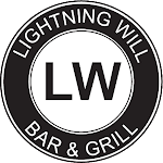 Logo for Lightning Will Bar & Grill