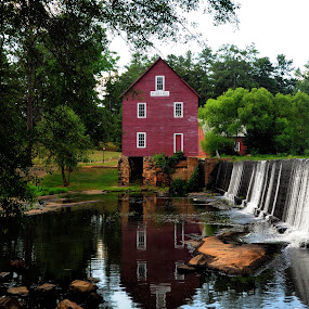 ~Starr's Mill~ by Kim Welborn - Buildings & Architecture Statues & Monuments