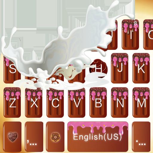 Romantic Chocolate Keyboard Theme