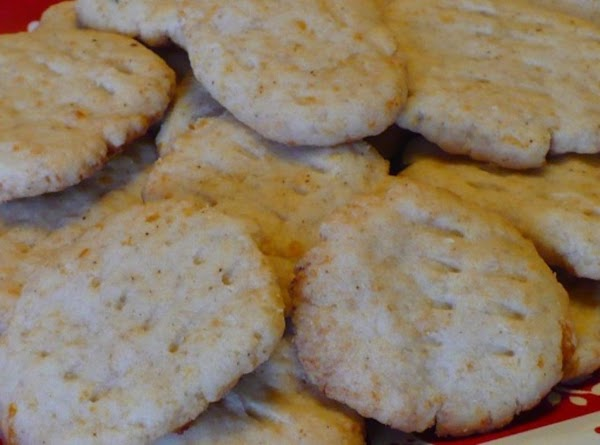 Pizza Cheese And Garlic Wafers (biscuits) Recipe