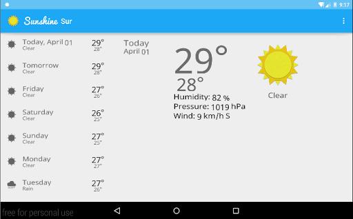 免費下載天氣APP|Sunshine app開箱文|APP開箱王