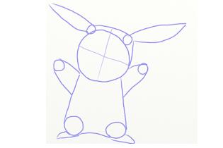 How To Draw Pika U - screenshot thumbnail 01