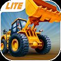 Kids Vehicles: Construction Lite toddler puzzle icon