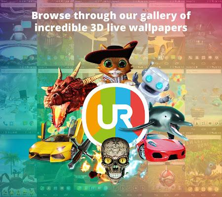 UR 3D Launcher—Customize Phone 3.0.1553.0 screenshot 411845