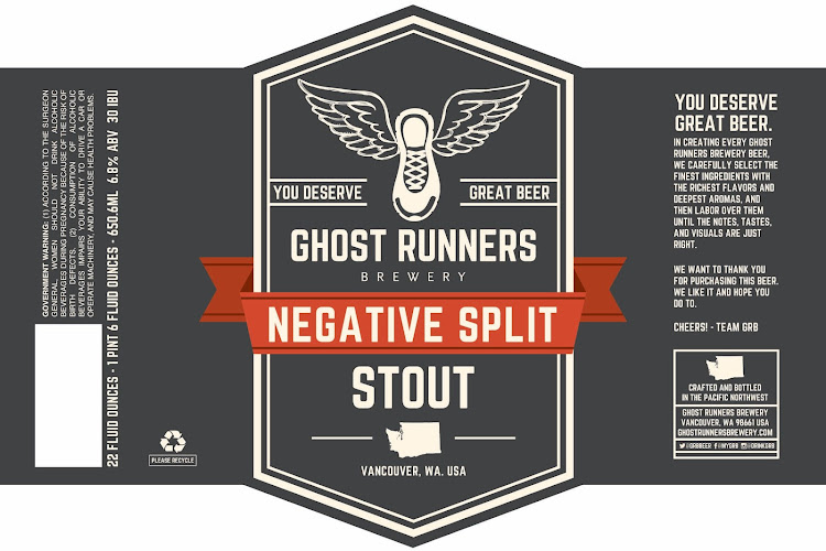 Logo of Ghost Runners Negative Split Stout