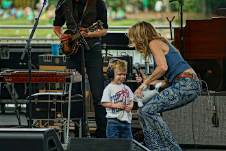 Photo: Sheryl and her little Levi, today @ the Sea World in Orlando, FL :-) (photo by Mickeyupdates.com)