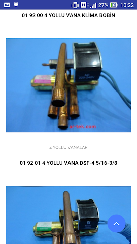 android Özdal Teknik Anadolu Soğutma Screenshot 1