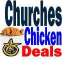 Churchs Chicken Deals Coupons & 1000's of Games icon