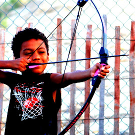 Warrior by Keysha Wallace-Patton - Babies & Children Children Candids