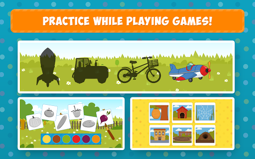 Blue Tractor: Learning Games for Toddlers Age 2, 3 1.0 screenshots 9