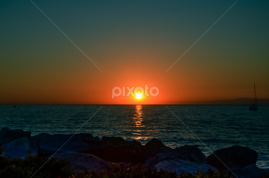 Zahod...6 by Andrej Bojnec - Landscapes Sunsets & Sunrises