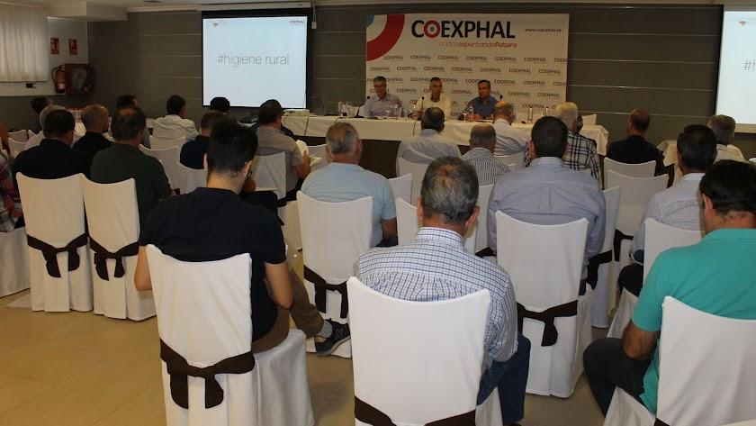 Imagen de la asamblea general de Coexphal.