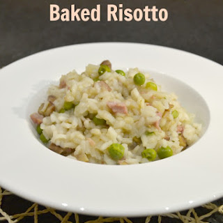 Ham, Chestnut & Maple Oven Baked Risotto