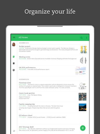 Evernote – Organizer, Planner, Notebook screenshot 7