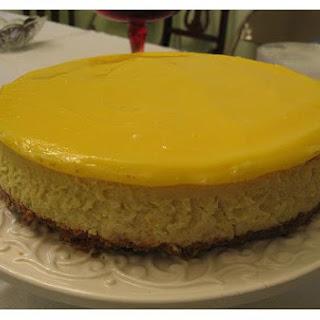 Lemon Party Cheesecake.
