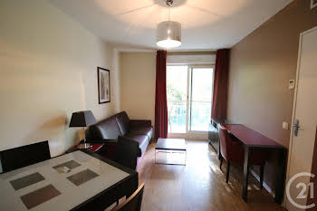 Appartement meublé 2 pièces 28,54 m2