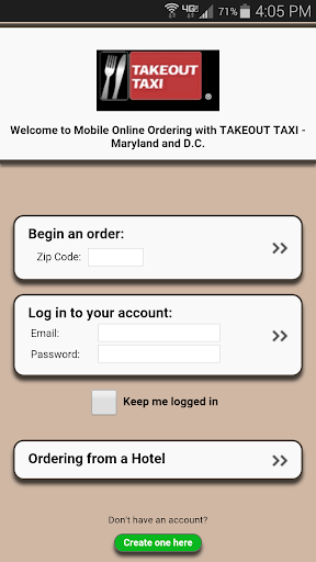 Takeout Taxi MD DC