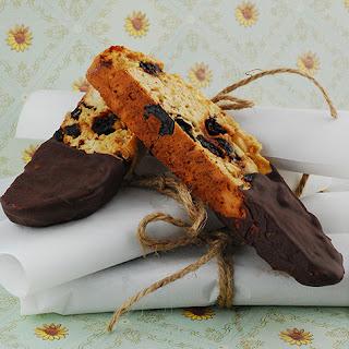 Chocolate Cherry Almond Biscotti Recipes