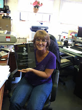 Photo: Linda R., Office Manager for Michaud & Raymond Oil, Inc. in Peabody, MA celebrating 25 years as an Accredited Business