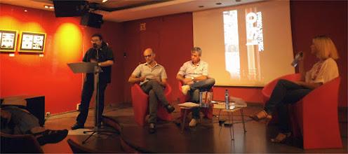 Photo: Luis Ingelmo hace su presentación