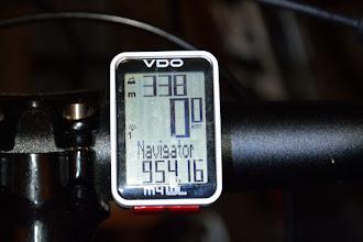 Photo: A tyle km pokonałem w 4 dni(Grzesiu pewnie przekroczył granicę 1000 km ;) )